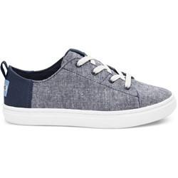 Toms Youth Lenny Denim Chambray Sneaker