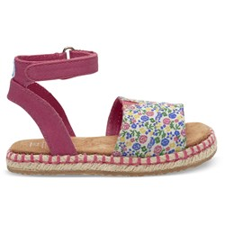 Toms Tiny Malea Canvas Printed Sandal