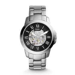 Fossil Grant Automatic Stainless Steel Watch - ME3103