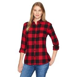 Dickies - Womens L/S Plaid Flannel Top