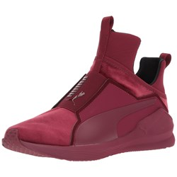 Puma - Womens Fierce Velvet Hightop Sneakers