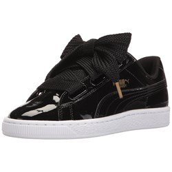 Puma - Womens Basket Heart Patent Shoes