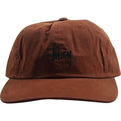 Stussy Mens Wax Cotton Low Pro Hat