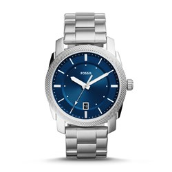 Fossil Men's Machine Three-Hand Date Stainless Steel Watch (Model: FS5340)