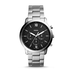Fossil Men's Neutra Chronograph Stainless Steel Watch (Model: FS5384)