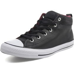 Converse - Unisex Leather Chuck Taylor All Star Street Mid Shoes