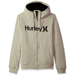 Hurley Mens Bayside Sherpa Fleece Zip-Up