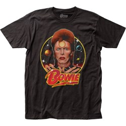 David Bowie - Mens Space Oddity Jersey T-Shirt