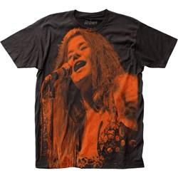 Janis Joplin - Mens Big Print T-Shirt