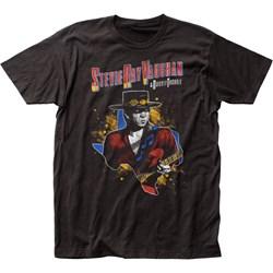 Stevie Ray Vaughan - Mens 1984 Tour Jersey T-Shirt