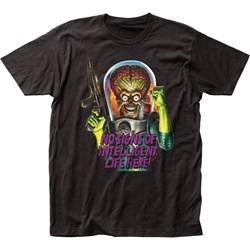 Mars Attacks - Mens Intelligent Life Jersey T-Shirt