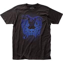 Black Panther - Mens Attack Logo Jersey T-Shirt