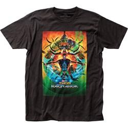 Thor Ragnarok - Mens Poster Jersey T-Shirt