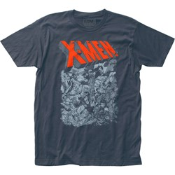 X-Men - Mens Group Fight Jersey T-Shirt
