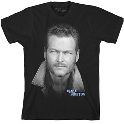 Blake Shelton - Mens Portrait T-Shirt