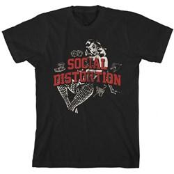 Social Distortion - Mens White Light Icons T-Shirt