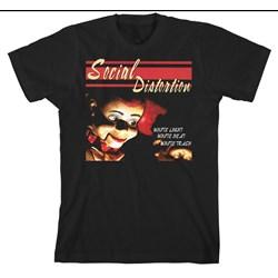 Social Distortion - Mens White Trash T-Shirt