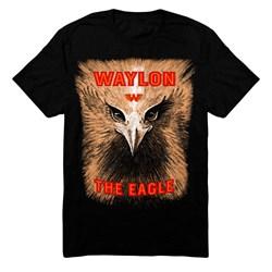 Waylon Jennings - Mens Eagle T-Shirt