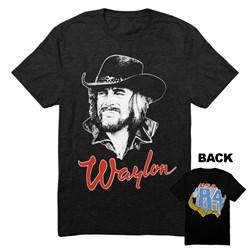 Waylon Jennings - Mens Draw 84 T-Shirt
