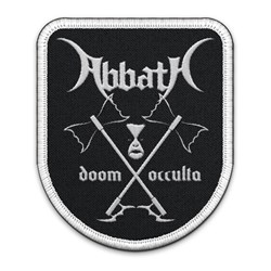 Abbath - Unisex-Adult Doom Occulta Rounded Patch