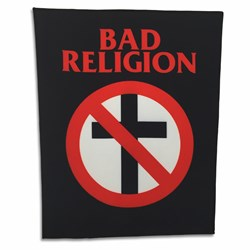 Bad Religion - Unisex-Adult Br Crossbuster Patch