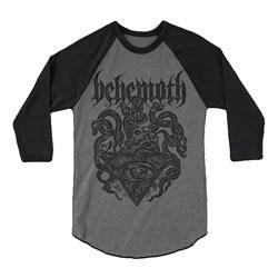 Behemoth - Mens Deathcrest T-Shirt-Long-Sleeve