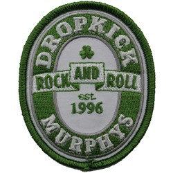 Dropkick Murphys - Unisex-Adult Rock And Roll Patch