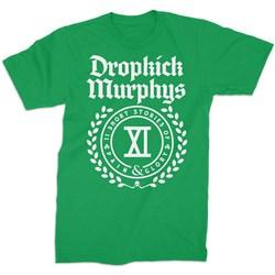 Dropkick Murphys - Mens Short Stories Crest T-Shirt