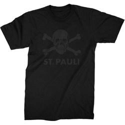 Fc St Pauli - Mens St Pauli Black Skull T-Shirt