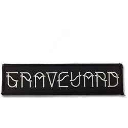 Graveyard - Unisex-Adult Logo Patch