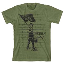 Green Day - Mens Flag Boy T-Shirt