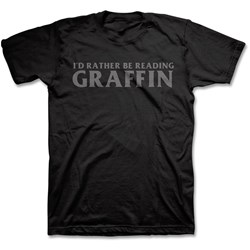 Greg Graffin - Mens I'D Rather Be Reading T-Shirt