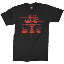 Rise Against - Mens Jazz Face T-Shirt