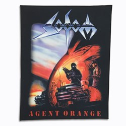 Sodom - Unisex-Adult Agent Orange Patch