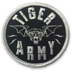 Tiger Army - Unisex-Adult Tigerbat Patch