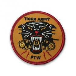 Tiger Army - Unisex-Adult Eater Patch