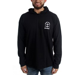 Dark Seas - Mens Water Drop Hooded Longsleeve