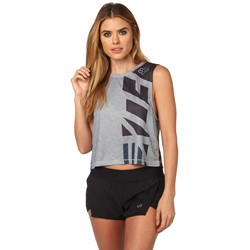 Fox - Womens Red, White And True Crop Top