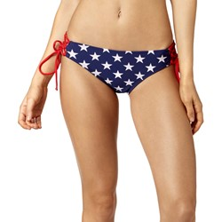 Fox - Womens Red, White And True Side Tie Bottom