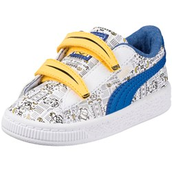 PUMA Kids' Minions Basket V Sneaker