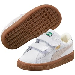 PUMA - Infant Basket Classic Gum Deluxe V Shoes
