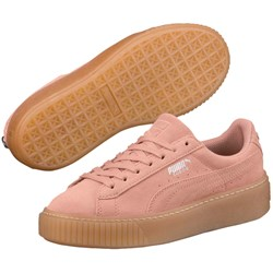 PUMA - Kids Suede Platform Jewel Shoes