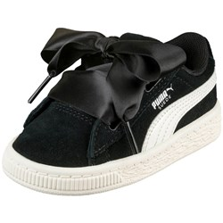 PUMA - Infant Suede Heart Jewel Shoes