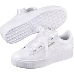 PUMA - Womens Vikky Platform Ribbon P Shoes