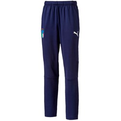 PUMA - Kids Figc Italia Training Pants Zipped Pocket