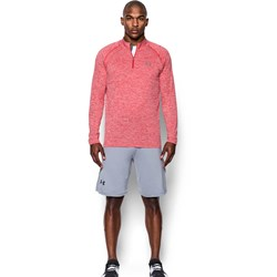 Under Armour - Mens Tech Zip Long-Sleeves T-Shirt