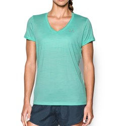 Under Armour - Womens Tech Tiger VNeck T-Shirt