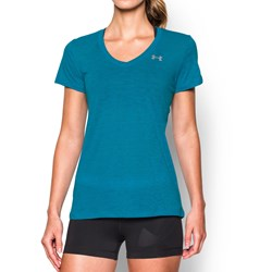 Under Armour - Womens Tech Slub VNeck T-Shirt