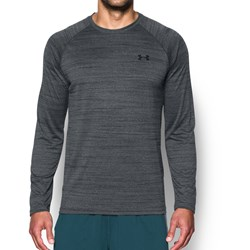 Under Armour - Mens Tech Patterned Long Sleeve Long-Sleeves T-Shirt