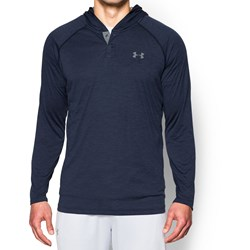Under Armour - Mens Tech Popover Long-Sleeves T-Shirt